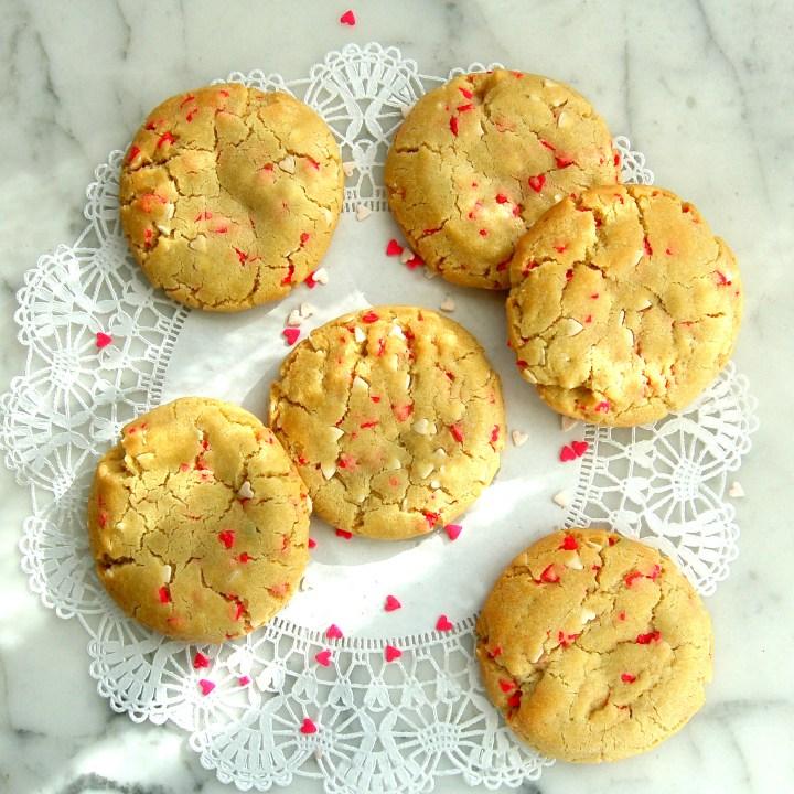 Valentine's Day Confetti Cookie