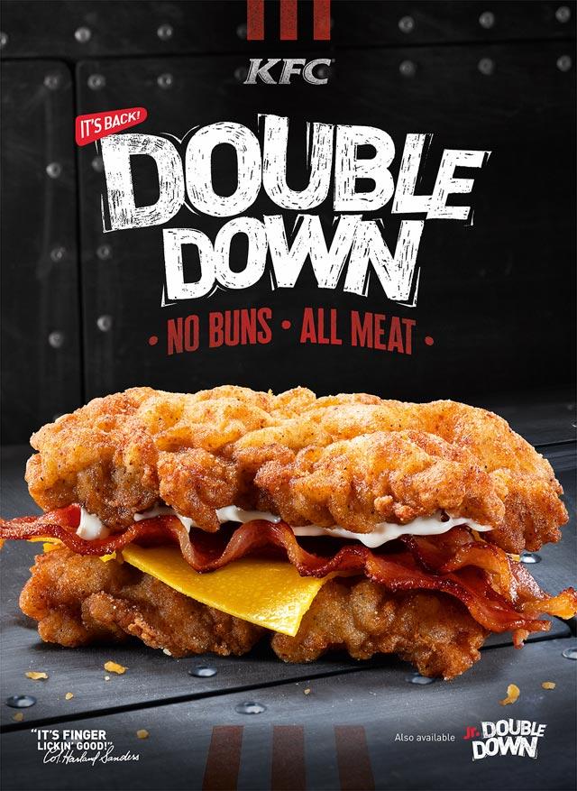 KFC Doubledown photo