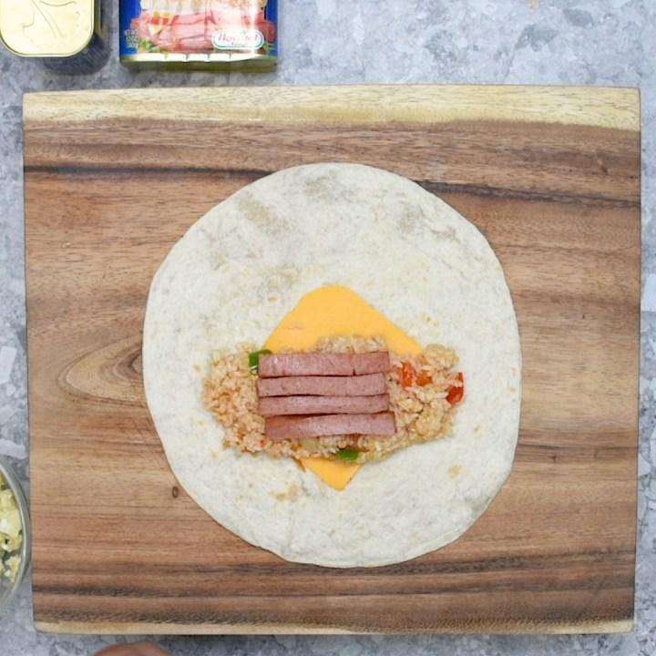 Spamsilog Burrito