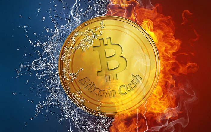 Цена Bitcoin Cash взлетает на 30%, биткоин падает на $3000 в день