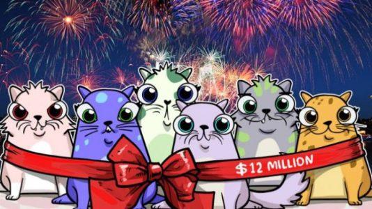 Продажи CryptoKitties достигли 12 миллионов долларов