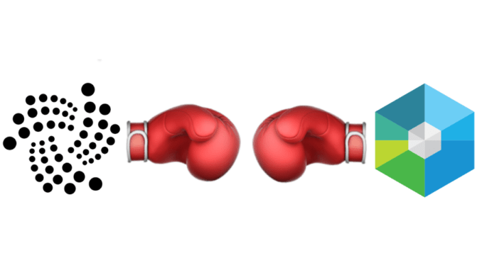 IOTA против Raiblocks