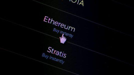 Стоимость Ethereum обновила рекордное значение, курс Ripple снизился