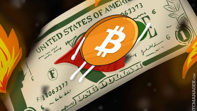 Ровно год назад биткоин достиг своего исторического максимума