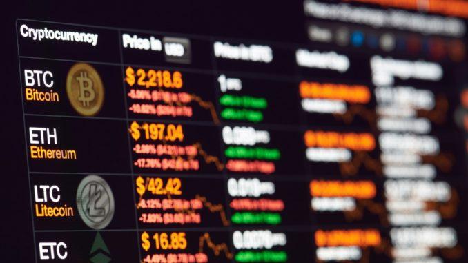 Анализ криптовалют на 18.04.2018