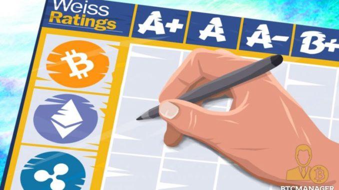 Агенство Weiss Ratings выпустило новый рейтинг по 93 монетам