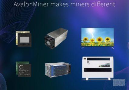 Canaan Creative анонсировала выпуск нового ASIC-майнера AvalonMiner A911