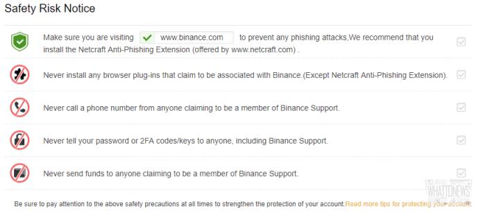 Обзор биржи Binance