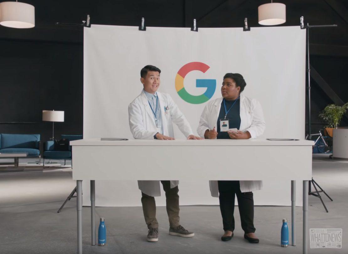 Google шутит о криптовалютах в рекламе нового смартфона