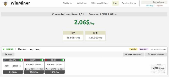 WinMiner: Как майнить криптовалюту в один клик