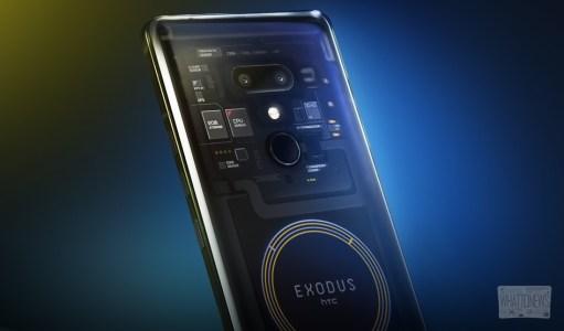 HTC Exodus VS iPhone: что внутри первого блокчейн смартфона