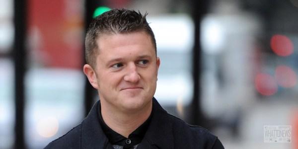 Британский журналист Томми Робинсон переходит на биткоины после бана от PayPal