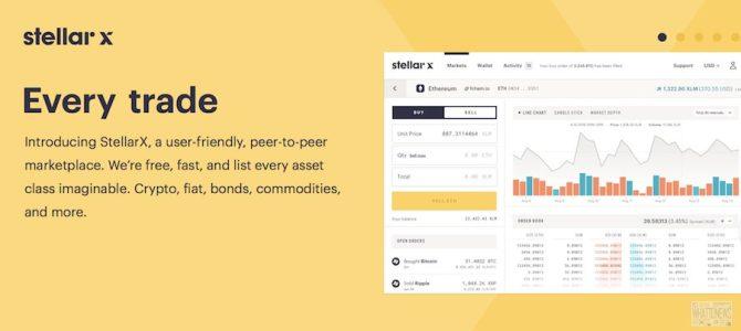 Coinsquare приобрела децентрализованную биржу StellarX