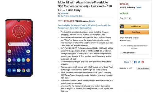 Amazon продал и доставил еще не вышедший смартфон