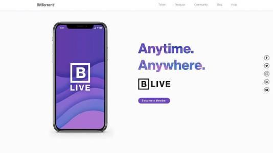 BitTorrent запустил бета-версию платформы BLive