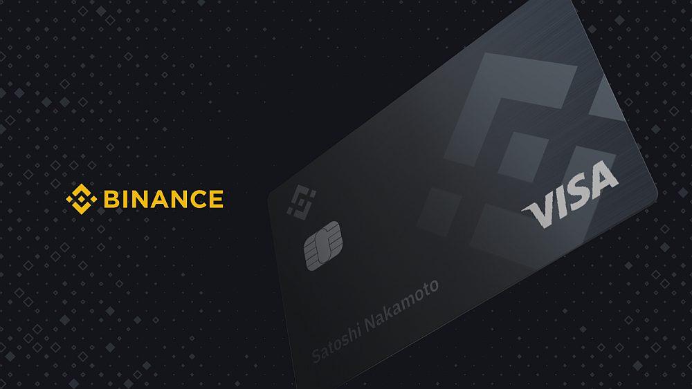 Карта Binance: Платежи за криптовалюту по всему миру