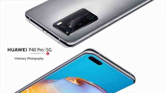 Huawei официально представила линейку P40