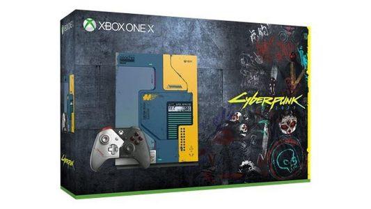 В июне выйдет Xbox One X в стилистике Cyberpunk 2077