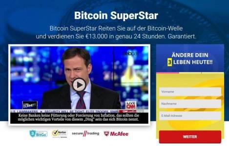 Осторожно, новый скам: Bitcoin Superstar