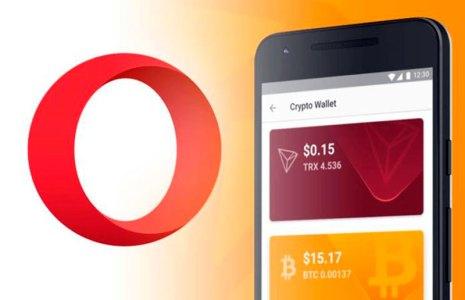 Opera расширяет пополнение криптокошельков