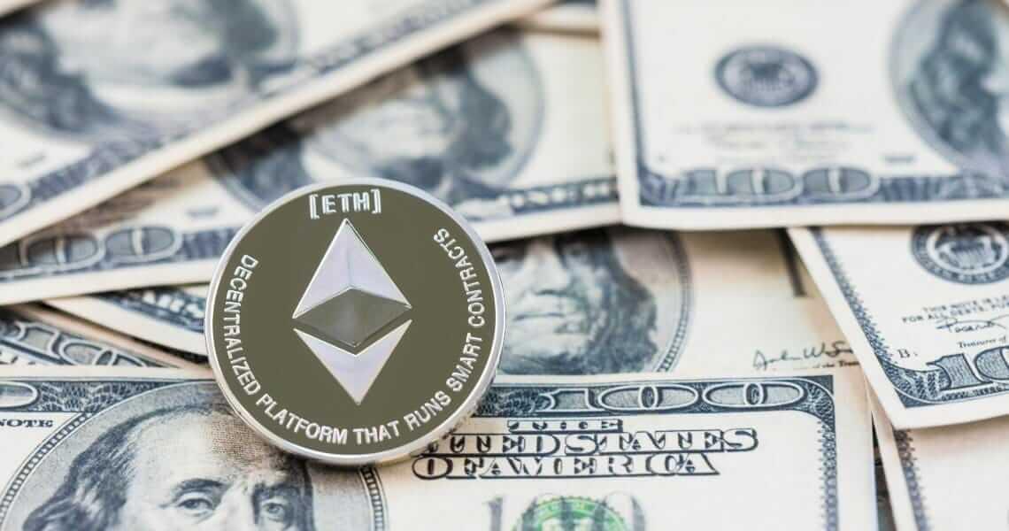 Раздвоение сети Ethereum не повлияло на цену криптовалюты