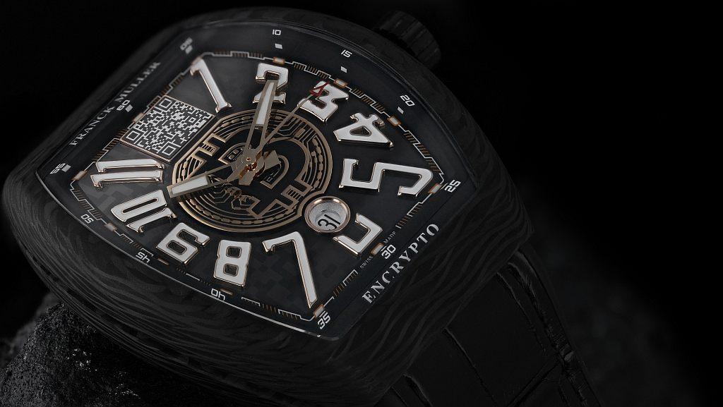 Franck Muller создал часы с символикой биткоина