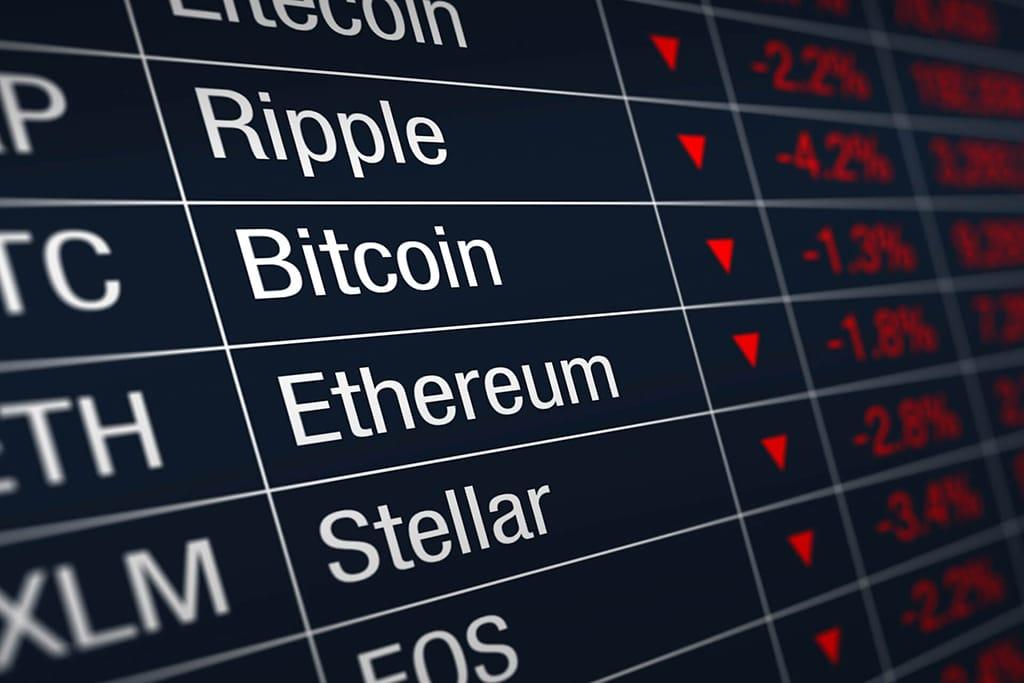 Объем торгов на криптобиржах в феврале превысил $1 трлн
