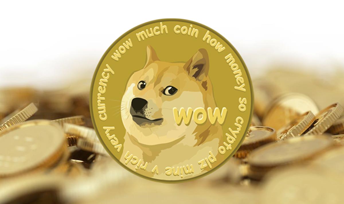 За сутки монета Dogecoin обвалилась более чем на 40%