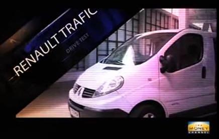 Test cu noul Renault Trafic 2012 in Emisiunea AutoReport Money Channel