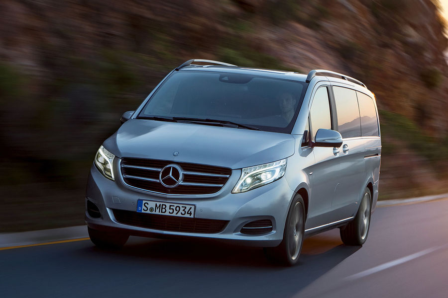 Imagini cu noul Mercedes Vito Clasa V 2014- Amplu facelit aplicat vechiului Vito