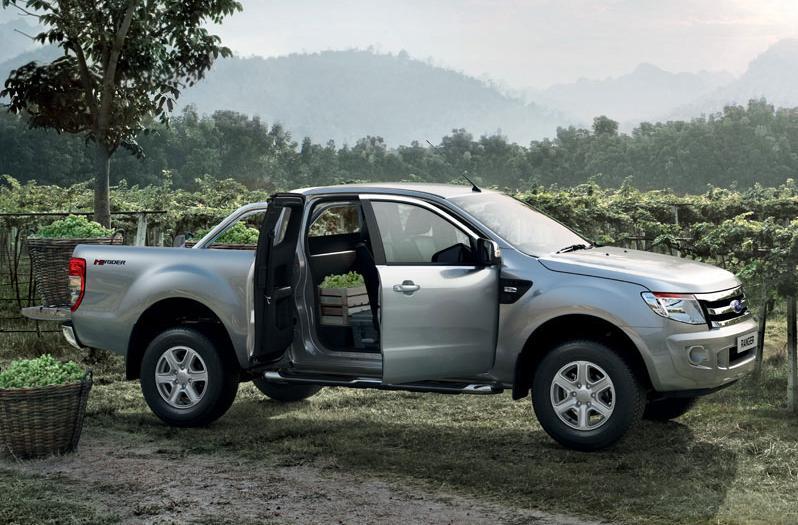 Ford Ranger primeste o motorizare pe benzina 2.5 L5-VE de origine Mazda