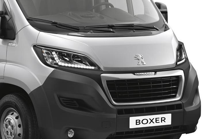 Imagini si date tehnice cu noul Peugeot Boxer 2015