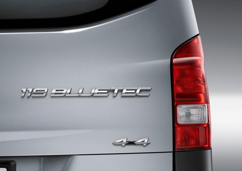 Vezi care sunt motorizarile diesel pentru noul Mercedes Vito 2014