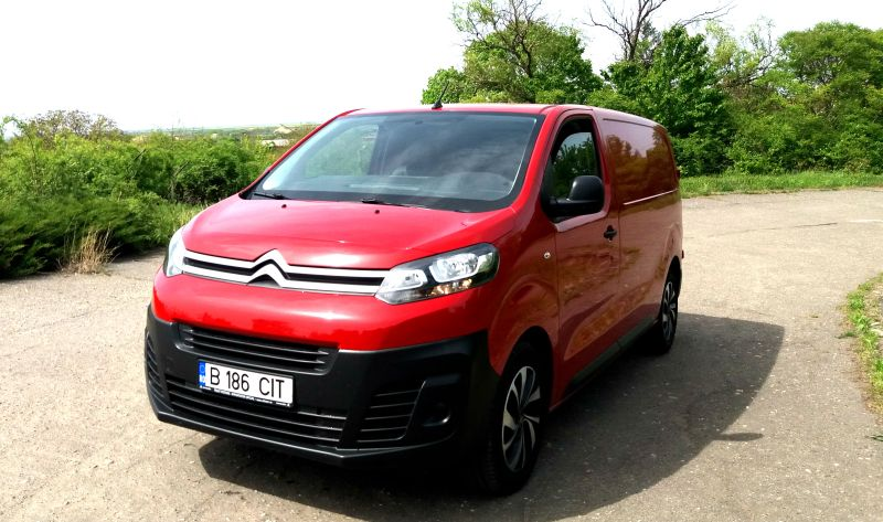Test Drive in Premiera nationala cu noul Citroen Jumpy 2017! Motorizarea diesel 1.6 BlueHDI S&S 115 CP