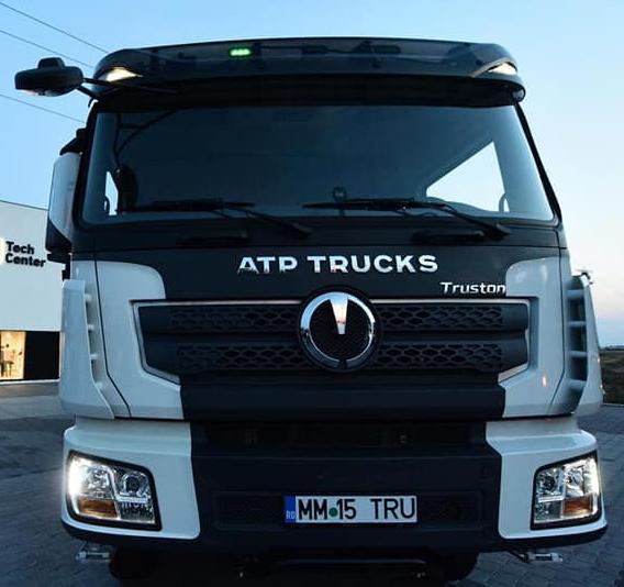 ATP Exodus prezinta camionul ATP Truston care nu este un produs romanesc ci unul 100% chinezesc