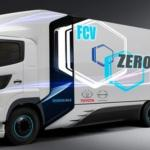Daimler Truck AG si Volvo Group, alianta Daimler Truck AG si Volvo Group, camion celula de hidrogen, fuell cell truck Daimler Truck AG si Volvo Group, imagini volvo mercedes hidrogen 2020