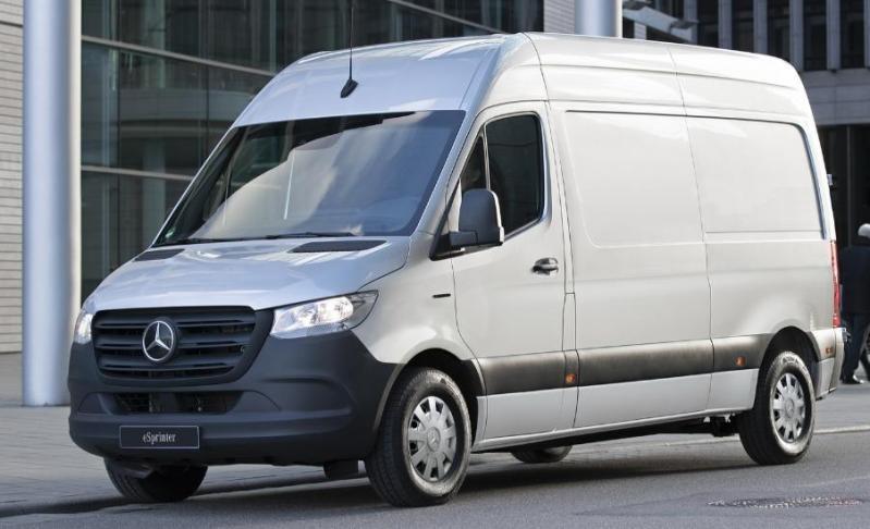 Noul Mercedes electric e-Sprinter urmeaza sa fie un esec total! Costa 57.000 euro si merge doar 150 de km cu o incarcare