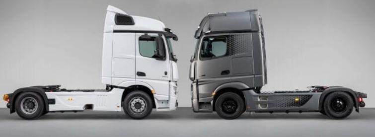 Mercedes-Benz Trucks & Buses România lanseaza noile Actros F și Edition 2 2021