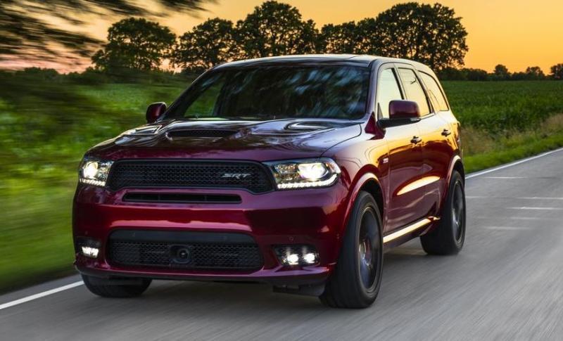 Americanii au vandut toate modelele Dodge Durango SRT Hellcat 2021