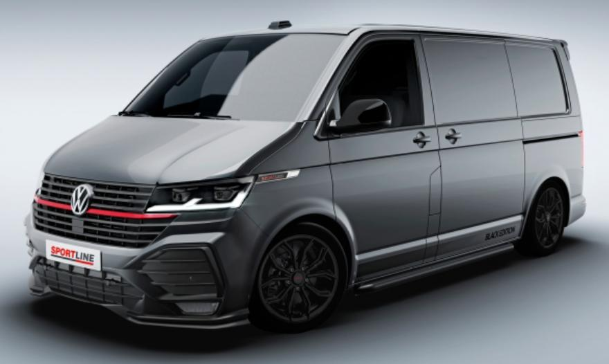 Volkswagen Commerciale lanseaza noul Transporter T6.1 Sportline 2021