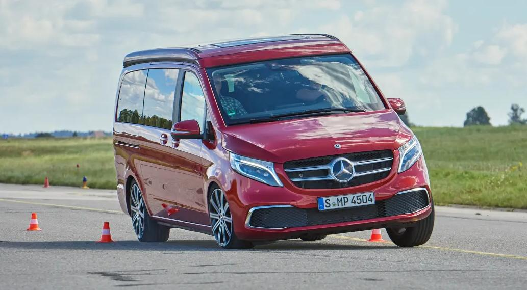 Noul Mercedes Marco Polo 300d 2021 are probeme de stabilitate