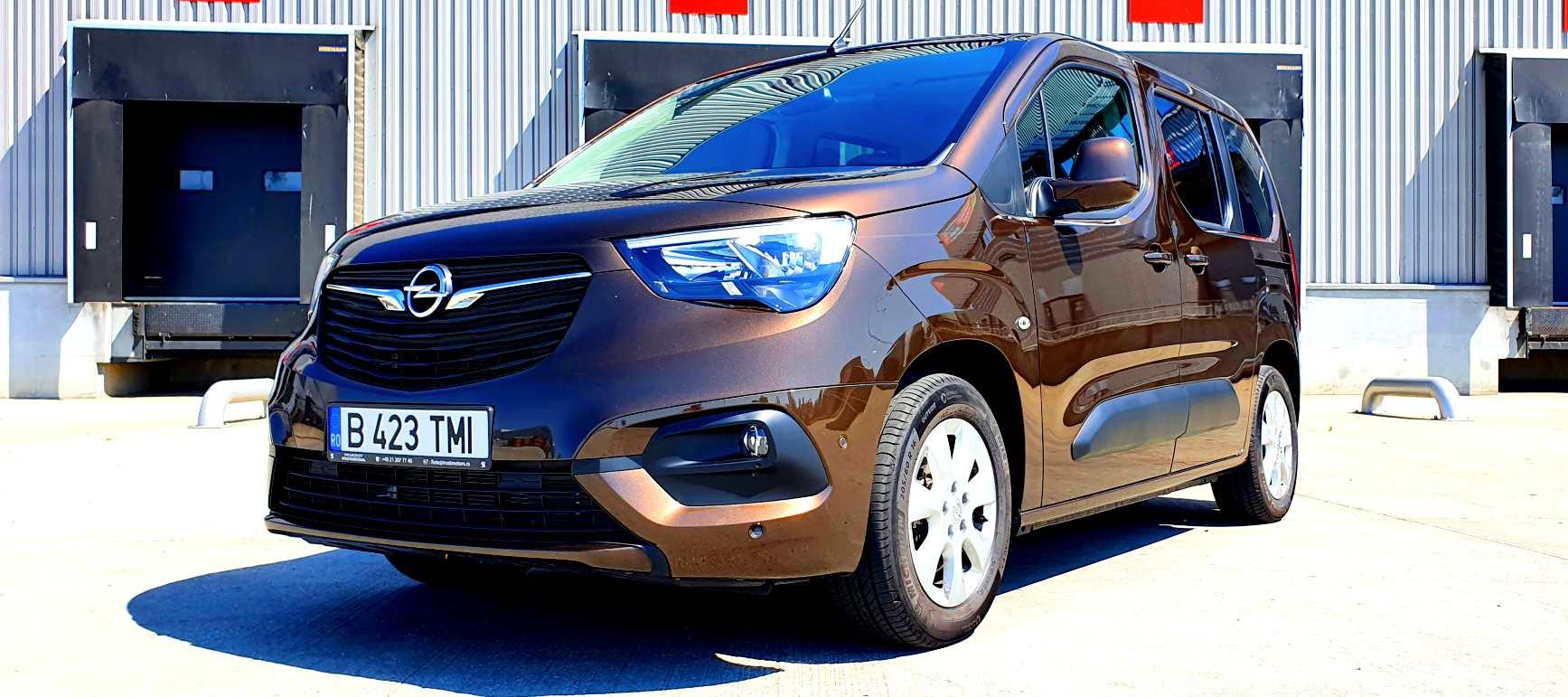Test Drive in premiera cu noua generatie Opel Combo Life Edition Plus 1.5 DTH 130 CP MT6 2021