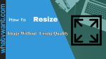 resize image without losing quality