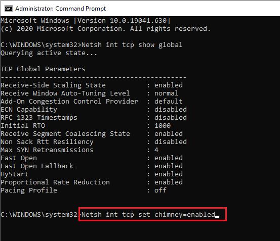 4 Amazing Ways to speed up internet connection using cmd in Windows 2