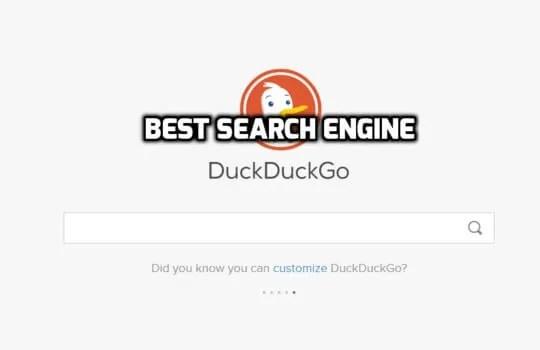 best search engine duckduckgo