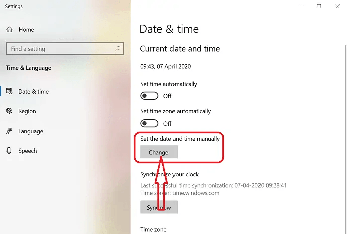 How to Change the date and time in Windows 10? 3