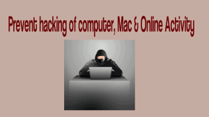 Prevent Hacking Of Computer