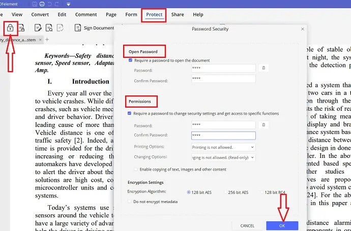 How to Protect PDF files with passwords and anti-copy technology for free? 1