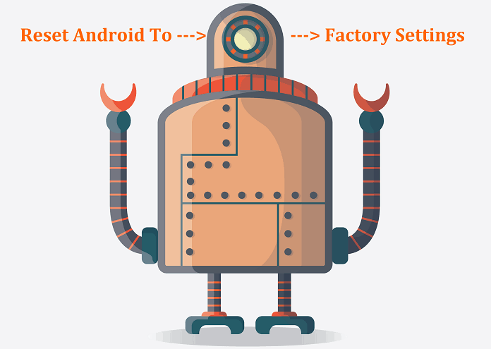 Reset Android to Factory settings