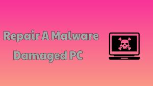 Malware Damaged PC